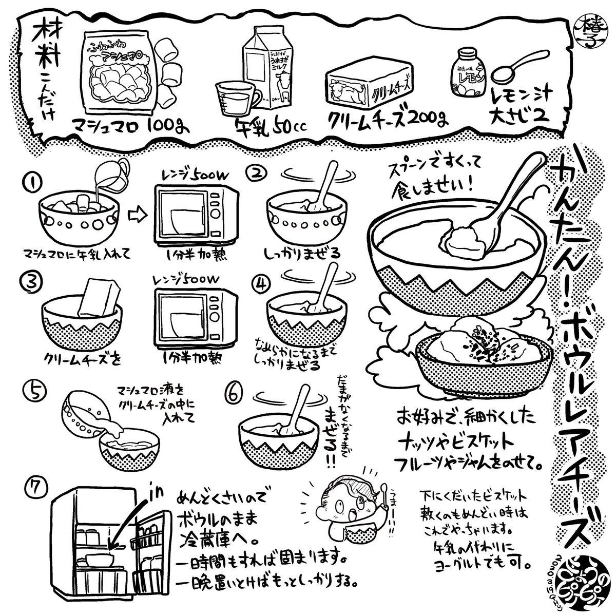 レアチーズケーキの作り方